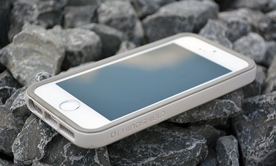 rhinoshield crashguard iphone bumper case