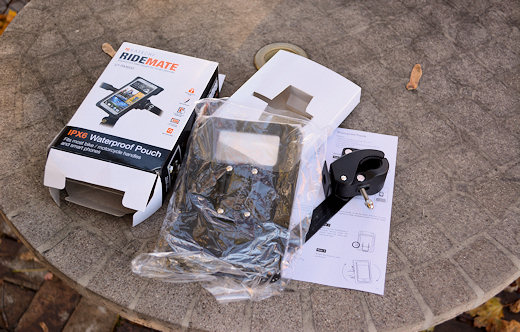 satechi ridemate waterproof case box contents