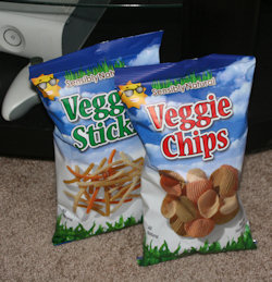 sensibly natural veggie chips