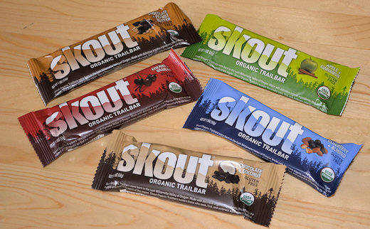skout organic trailbar sample pack