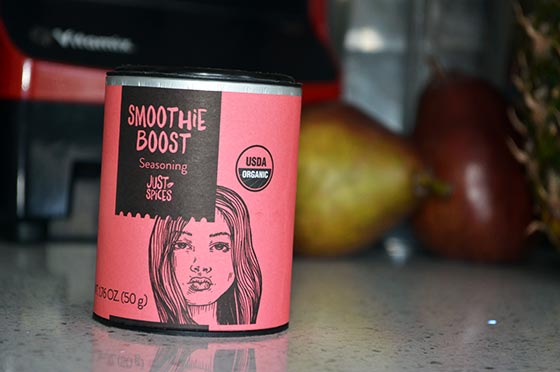 smoothie boost spice mix canister