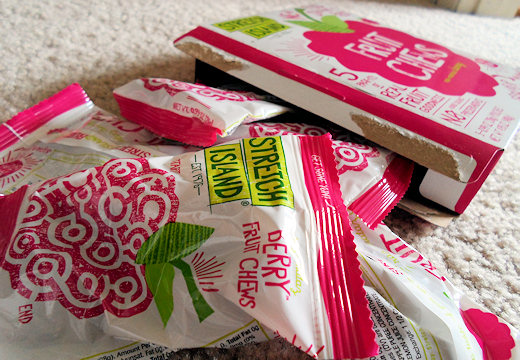 stretch island fruit chews box