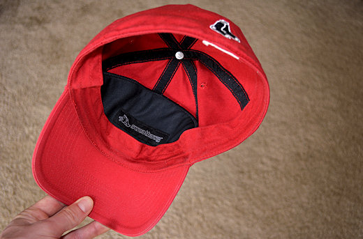 sweathawg cap insert in hat