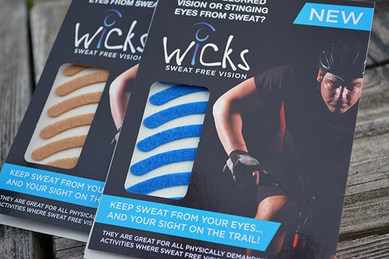 wicks sweat protector strips packaging