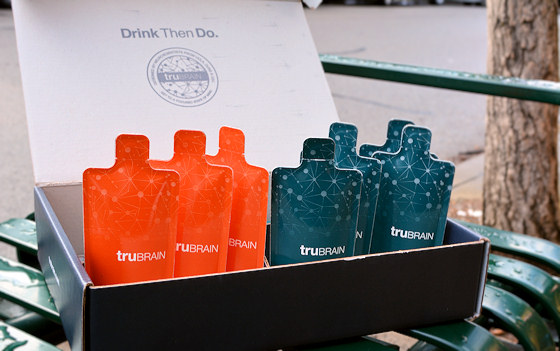 trubrain nootropics drink packets