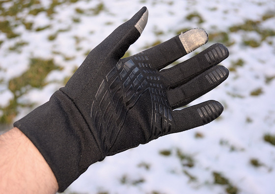 vbiger touchscreen glove grippy palm
