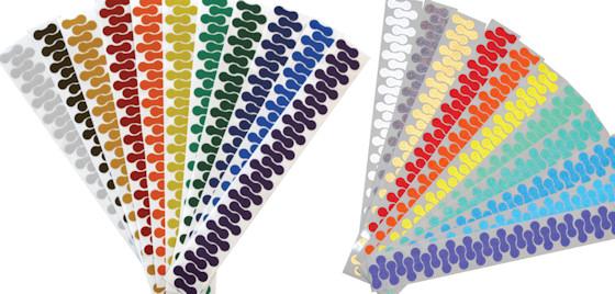 velosight decals color comparison chart