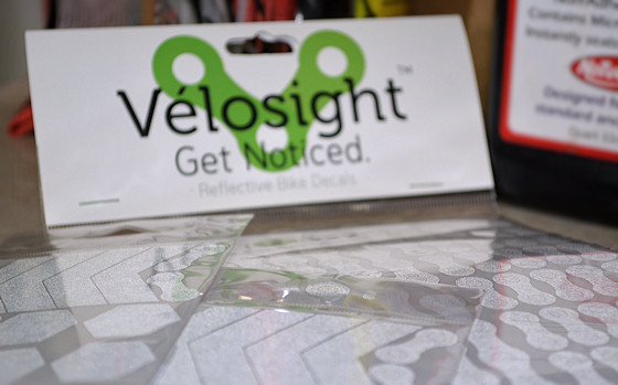 velosight reflective bike decals