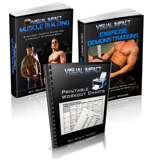 visual impact muscle building course
