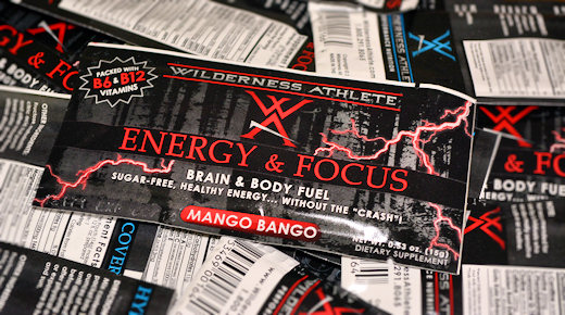 wilderness athlete energy & focus
