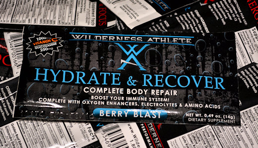 wilderness athlete hydrate & recover