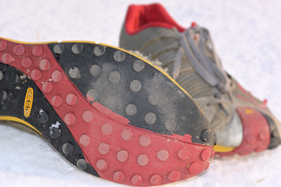 perfect shoes for using with yaktrax run