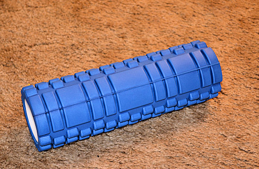 yes4all accupoint foam roller blue