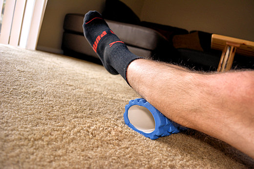 flattening accupoint foam roller