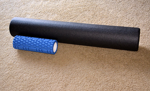 foam roller size comparison