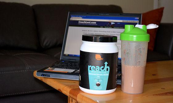 zahler reach whey protein powder