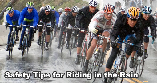 Safety Tips For Riding a Bicycle In The Rain