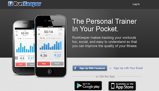 runkeeper screenshot