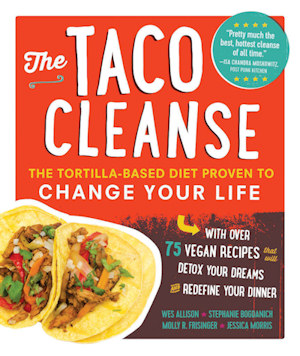 the taco cleanse book cover