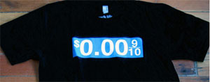 zero per gallon t-shirt
