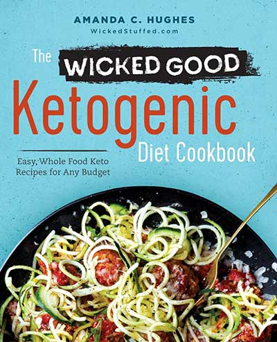 the wicked good ketogenic diet cookbook cover art