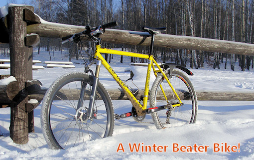 Why You Should Ride a Slow, Heavy Bike in the Winter